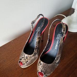 Women's Rock & Republic Cruz Snake heels